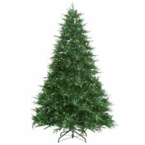 The Best Home Depot Black Friday Option: Splendor Spruce EZ POWER Artificial Christmas Tree