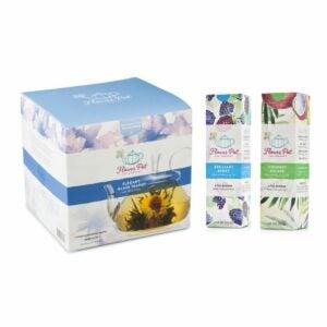 The Best Hostess Gifts Option: Blooming Tea Flowers & Teapot Set