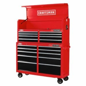 The Lowes Black Friday Option: CRAFTSMAN 2000 Series 52-in W 18-Drawer Tool Storage