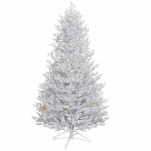 The Lowes Black Friday Option: GE 5-ft Coral Pre-Lit White Artificial Christmas Tree