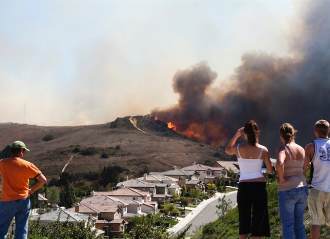 how to protect your property from wildfires
