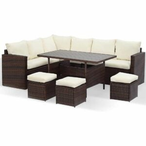 The Outdoor Dining Set Option: Wisteria Lane Patio Furniture Set