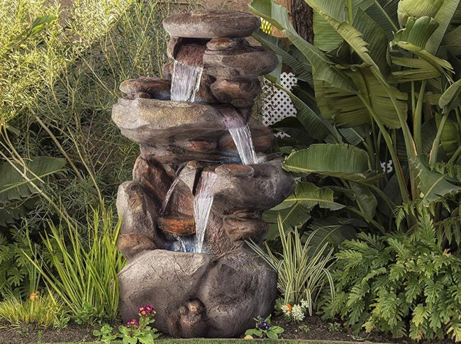 Outdoor Water Fountains Options