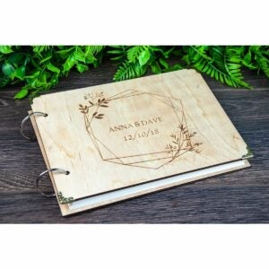 The Best Photo Gifts Option: Wood Photo Album, Personalized Cover