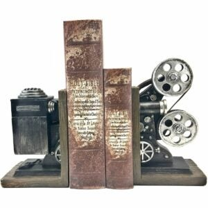 The Best Photo Gifts Option: Bellaa Vintage Camera Bookends