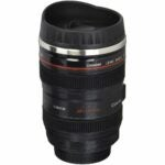 The Best Photo Gifts Option: uHome Camera Lens Travel Thermos