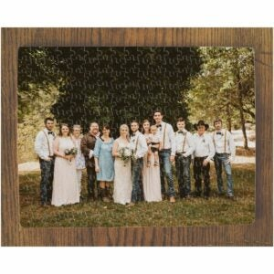 The Best Photo Gifts Option: Custom Wedding Puzzle From Your Photos
