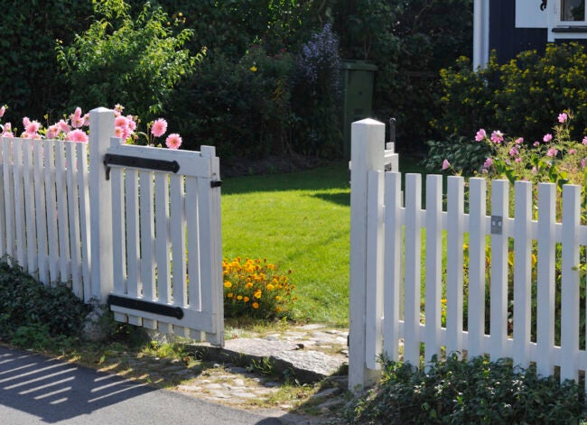 How To Repair Leaning Fence