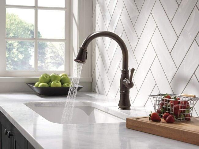 The Best Kitchen Faucet Brands Option: Delta