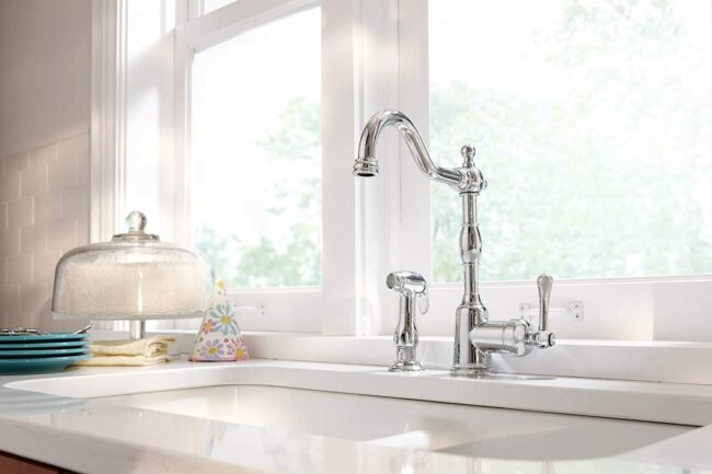 The Best Kitchen Faucet Brands Option: Danze