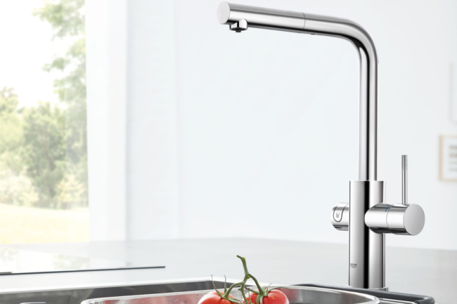 The Best Kitchen Faucet Brands Option: Grohe