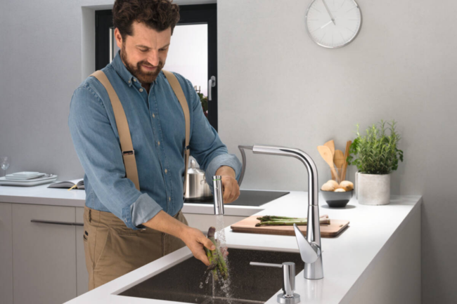 The Best Kitchen Faucet Brands Option: Hansgrohe