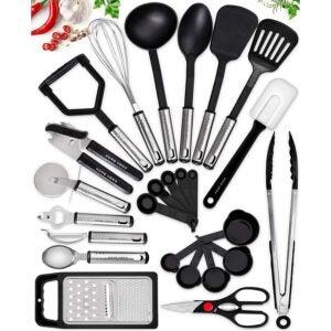 Deals Post 8_11 Option: Home Hero Kitchen Utensil Set