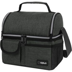 Deals Post 8_11 Option: OPUX Insulated Dual Compartment Lunch Bag