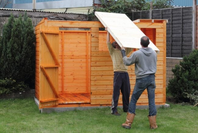 Cost To Build A Shed