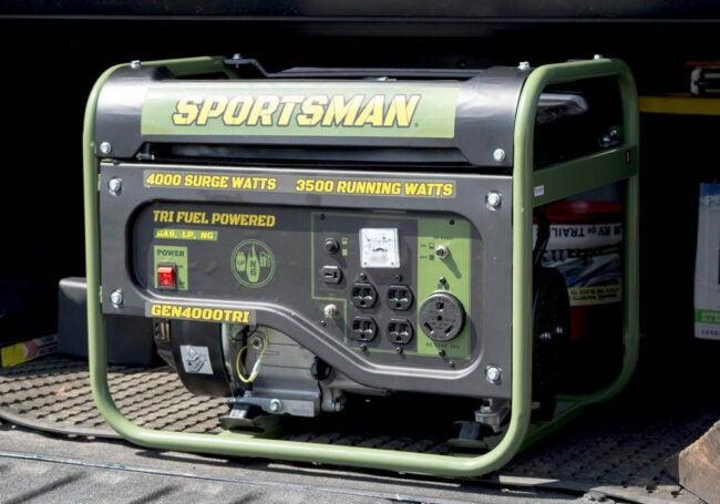 The Best Generator Brand Option: Sportsman