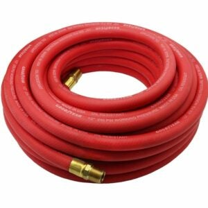 The Best Air Compressor Hose Option: Goodyear 12709 Red Rubber Air Hose