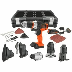 The Best Gifts for Woodworkers Option: BLACK+DECKER Cordless Drill Combo Kit