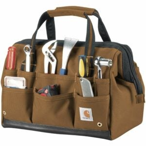 The Best Gifts for Woodworkers Option: Carhartt Legacy Tool Bag