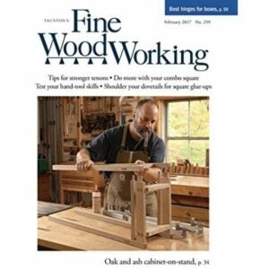 The Best Gifts for Woodworkers Option: Fine Woodworking Magazine