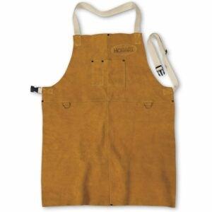 The Best Gifts for Woodworkers Option: Hobart 770548 Leather Welding Apron