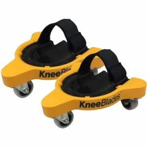 The Best Gifts for Woodworkers Option: Milescraft 1603 KneeBlades - Rolling Knee Pads