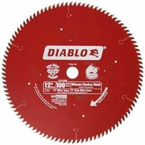 The Best Miter Saw Blade Option: Freud D12100X 100 Tooth Diablo Ultra Fine Circular