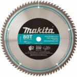 The Best Miter Saw Blade Option: Makita A-93681 10-Inch 80 Tooth Micro Polished Miter