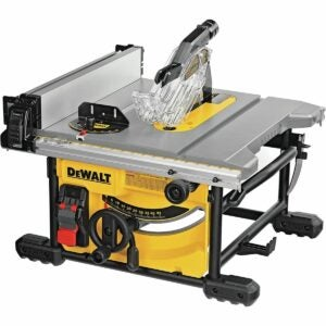 The Best Amazon Black Friday Option: DEWALT Table Saw, Compact 8-1/4-Inch