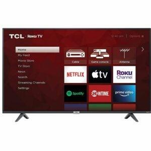 The Best Amazon Black Friday Option: TCL 43-inch 4K UHD SMART LED TV - 43S435, 2021 Model