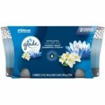 The Best Candle Option: Glade Candle Jar, Air Freshener, 2in1