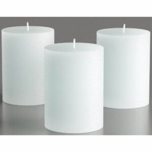 The Best Candle Option: Melt Candle Company Store Unscented Pillar Candles