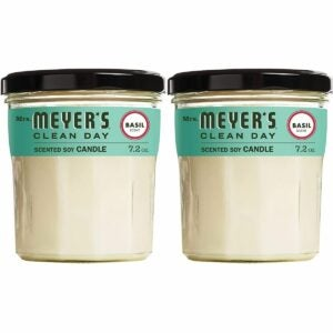 The Best Candle Option: Mrs. MEYER'S CLEAN DAY Soy Aromatherapy Candle