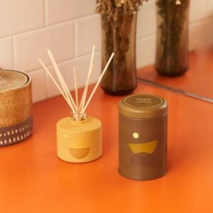 The Best Candle Option: P. F. Candle Co. Amber & Moss Large Candle