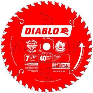 BBest Circular Saw Blade Option: Freud D0740A Diablo 7-1