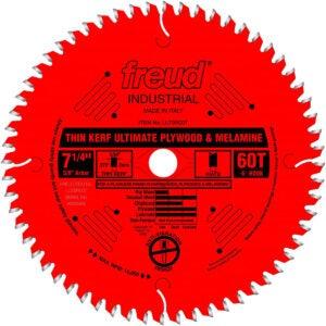 "Best Circular Saw Blade Options: Freud 7-1/4"" Ultimate Plywood and Melamine Blade"