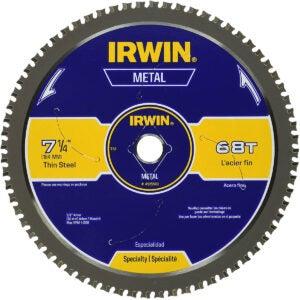 Best Circular Saw Blade Option: IRWIN 7-1/4-Inch Metal Cutting Circular Saw Blade