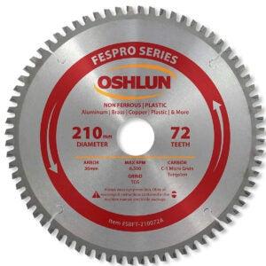 Best Circular Saw Blade Option: Oshlun SBNF-072560 7-1/4-Inch 60 Tooth TCG Saw Blade