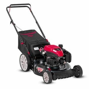 The Best Gas Lawn Mower Option: Troy-Bilt 21 in. Gas Walk Behind Push Lawn Mower