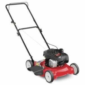 The Best Gas Lawn Mower Option: Yard Machines 20 in. 125 cc Gas Walk Behind Mower