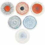 The Best Housewarming Gifts Option: AD Set of 6 Coasters for Drinks