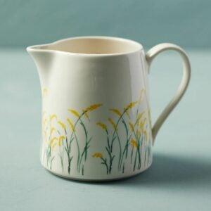 The Best Housewarming Gifts Option: Goldenrod Ceramic Measuring Jug