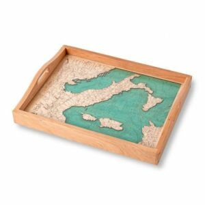 The Best Housewarming Gifts Option: Lake Art Custom Made Serving Tray