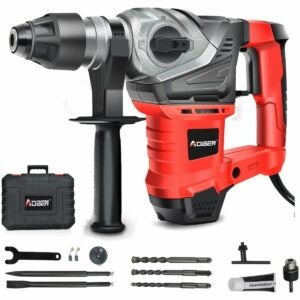 The Best Rotary Hammer Drill Option: AOBEN 1-1/4 Inch SDS-Plus Rotary Hammer Drill