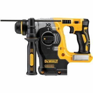 The Best Rotary Hammer Drill Option: DEWALT 20V MAX SDS Rotary Hammer Drill, Tool Only