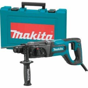 "The Best Rotary Hammer Drill Option: Makita HR2475 1"" Rotary Hammer"