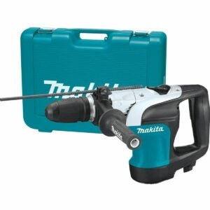 """The Best Rotary Hammer Drill Option: Makita HR4002 1-9/16"""" Rotary Hammer, accepts SDS-MAX"""