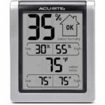 The Best Gifts for Plant Lovers Option: AcuRite Digital Hygrometer & Indoor Thermometer
