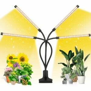 The Best Gifts for Plant Lovers Option: EZORKAS LED Grow Light