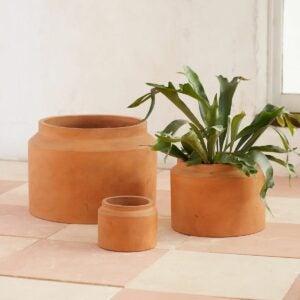 The Best Gifts for Plant Lovers Option: Fiber Jar Planter